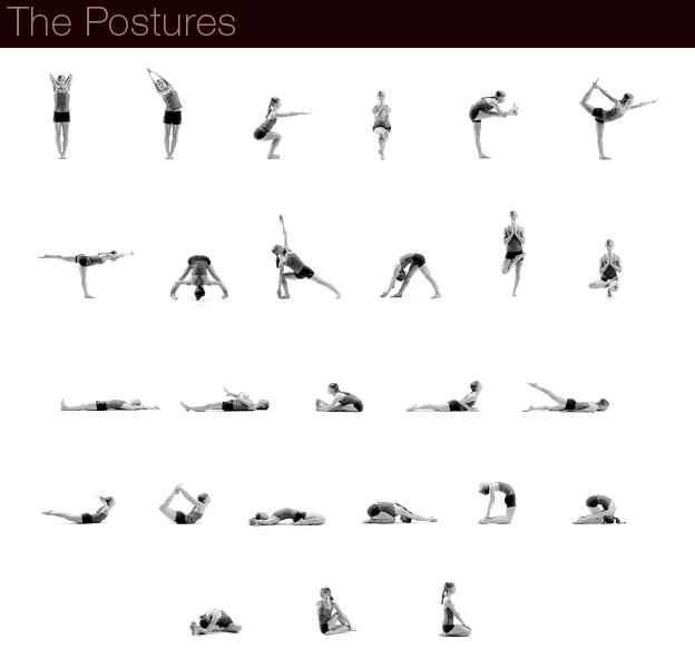 Free Weights Vs Yoga: Twenty Six Posture Exercises Bikram Yoga Poses