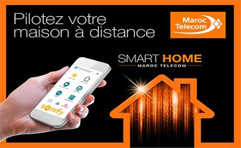 Maroc telecom lance l 39 offre smart home tic maroc for Abonnement internet maison secondaire