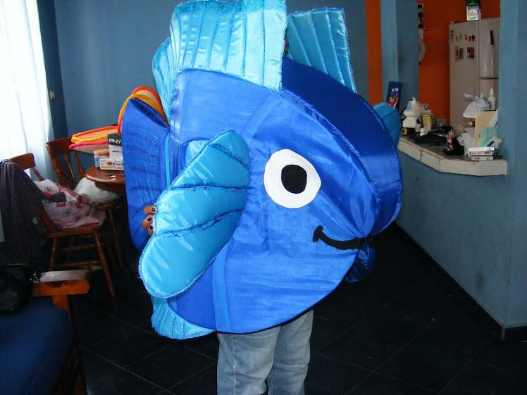 Como hacer un disfraz de pez con fomi - Imagui