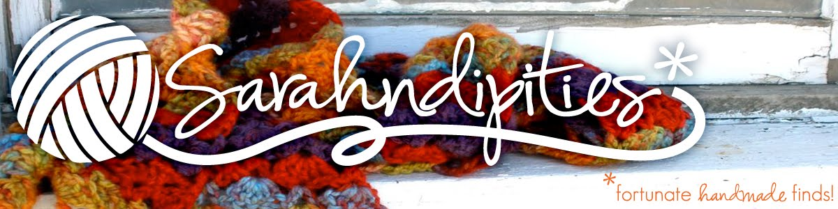 Sarahndipities ~ fortunate handmade finds