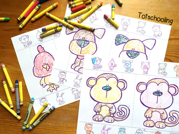 Chinese New Year Zodiac Coloring
