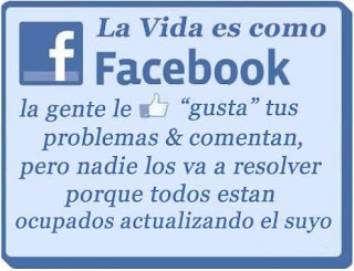 La vida es como Facebook