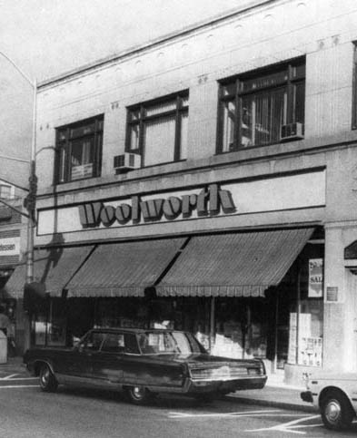Canteen woolworths shopping with mother Five and dime stores history