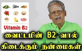 Vitamin B2 / Riboflavin Benefits in Tamil