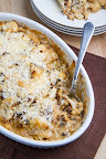 Roasted Cauliflower and Aged White Cheddar Gratin