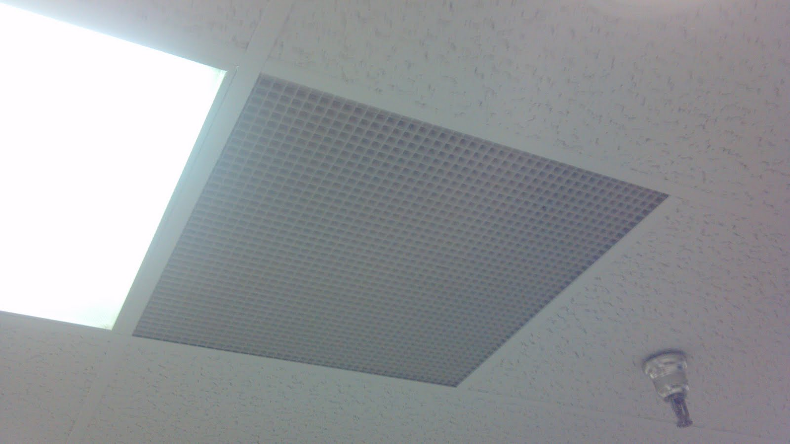 Lighted ceiling tiles