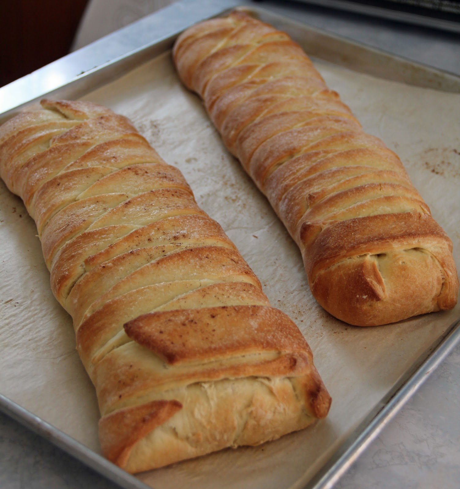 Jo and Sue: Apple Pie Bread Braid & Strawberry Cream Cheese Braid