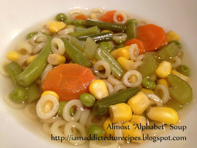 Almost Alphabet Soup | Addicted to Recipes