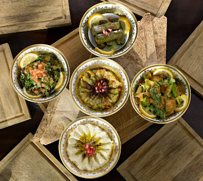 The experience starts with the chef's daily mezze, which encourages you and your dinning companions to share and interactive