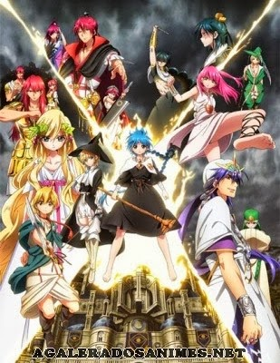 assistir online Magi: The Kingdom Of Magic Episódios legendados