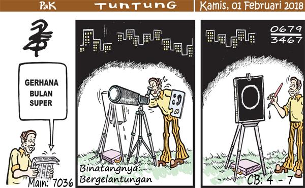 Prediksi Gambar Pak Tuntung Kamis 01 02 2018
