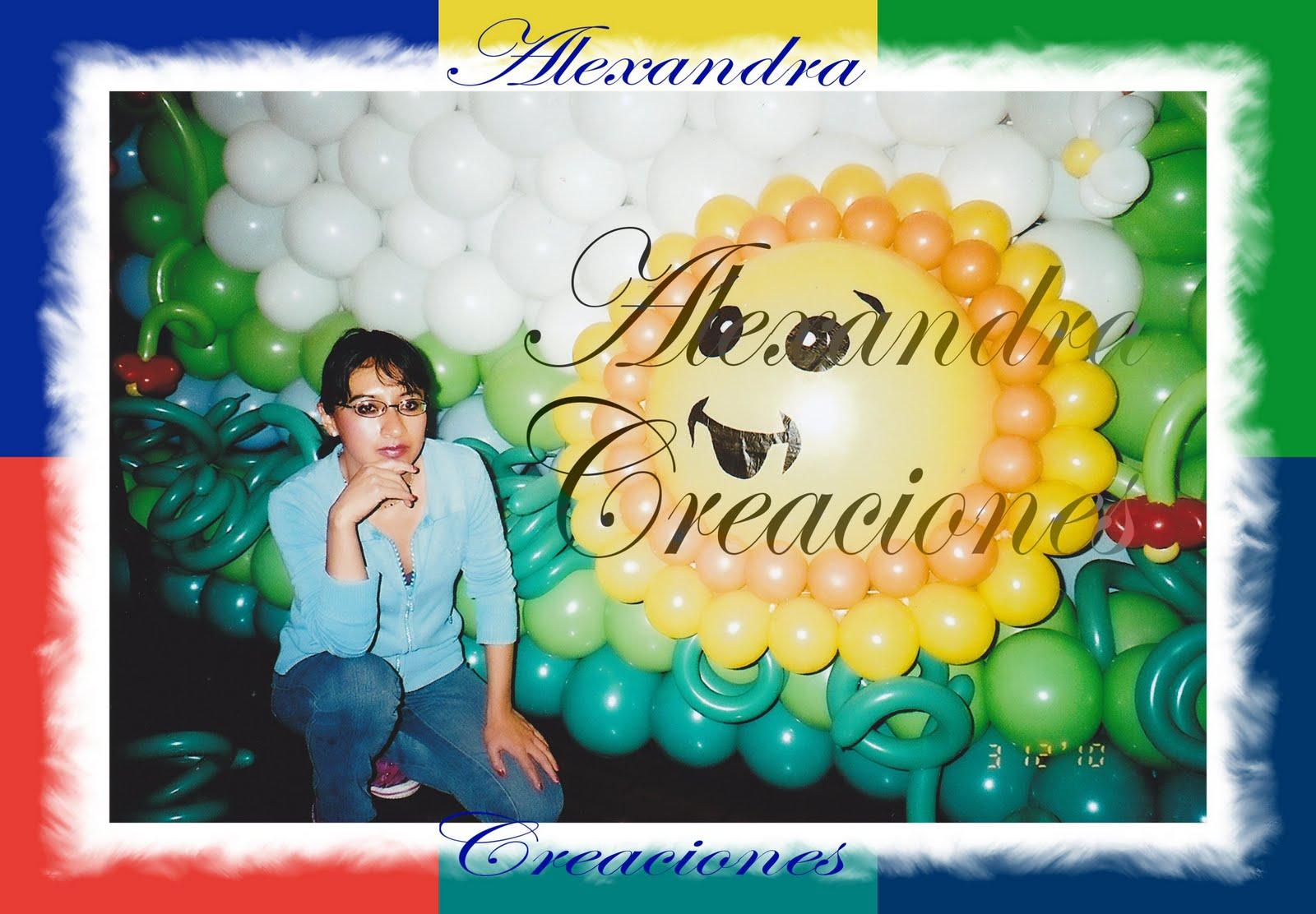 Alexandra creaciones curso decoracion con globos - Curso decoracion con globos ...