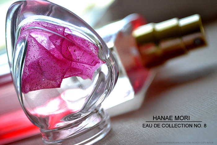 Fragrance Review - Hanae Mori Eau de Collection No. 8