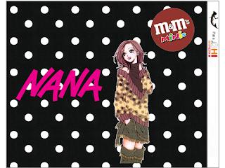 Etiquetas M&M de Nana para imprimir gratis.