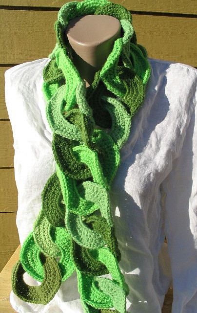 New Crochet : new crochet scarf patterns-Knitting Gallery
