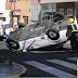 Fotos: espectacular accidente de taxi en Telde.
