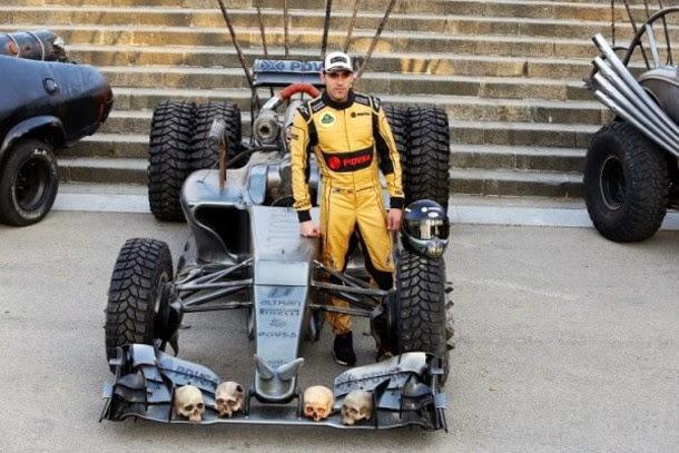 Lotus faz carro de F1 ao estilo Mad Max