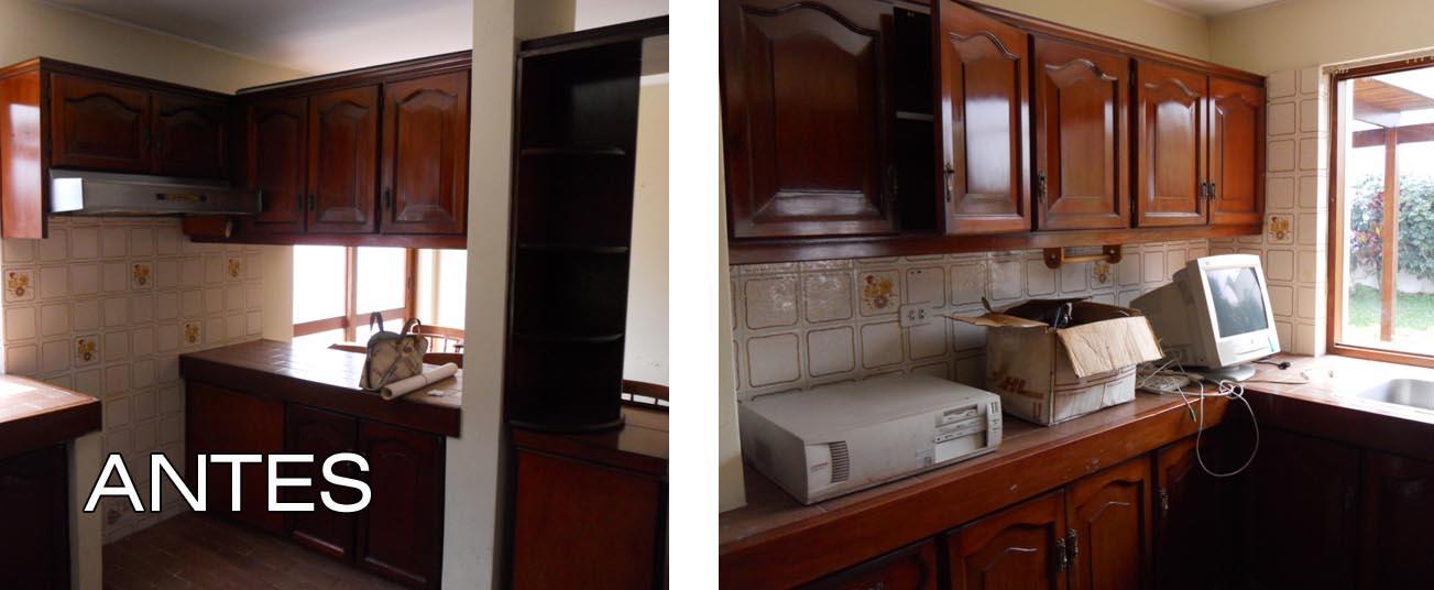 Oniria antes y despu s remodelacion de cocina for Remodelar cocina pequena