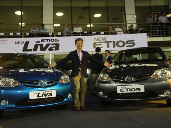 2013 Toyota Etios and liva