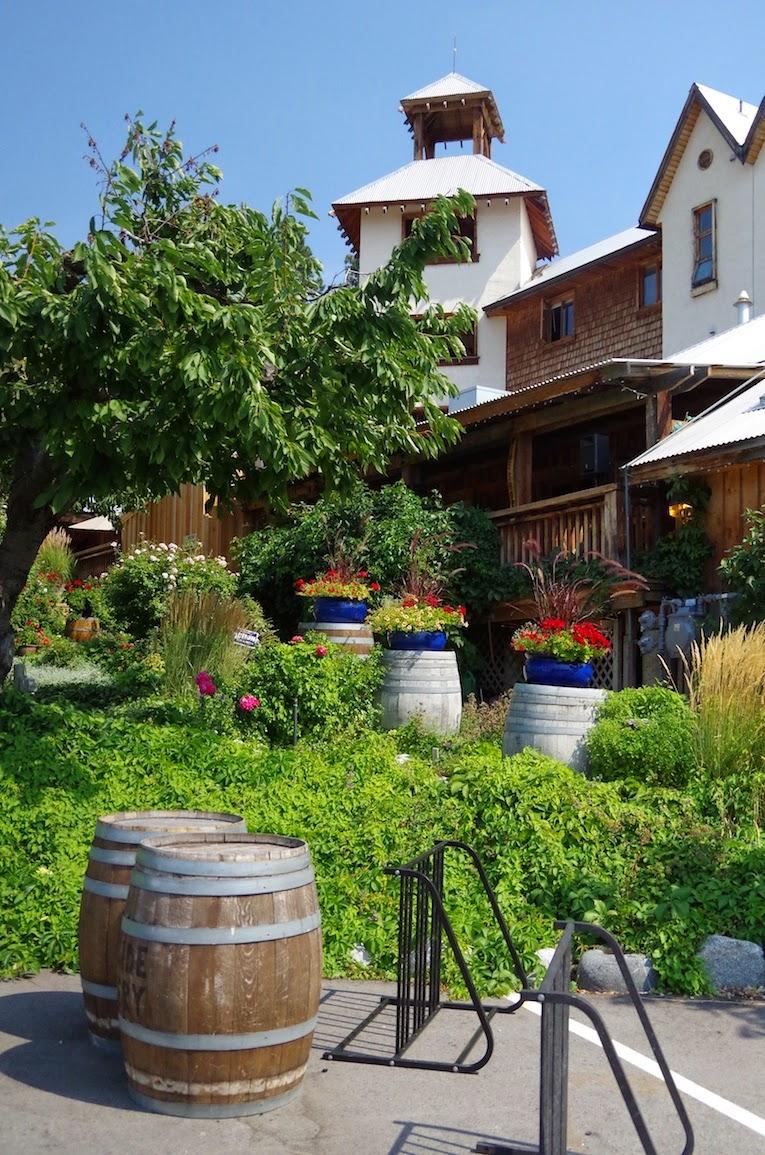 Outside of Hillside Winery, Naramat, BC - BTBU