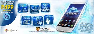 Myphone ICEBERG Price Promo