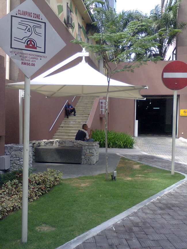 Entrance to the Uptown Secret Garden from Jalan SS21/58