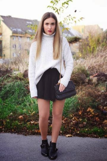 Outfits en colores Blanco y Negro