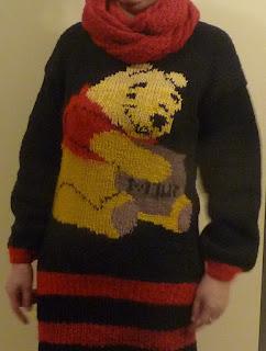 Sweter z Kubusiem