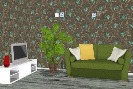 Green Plant Room Escape