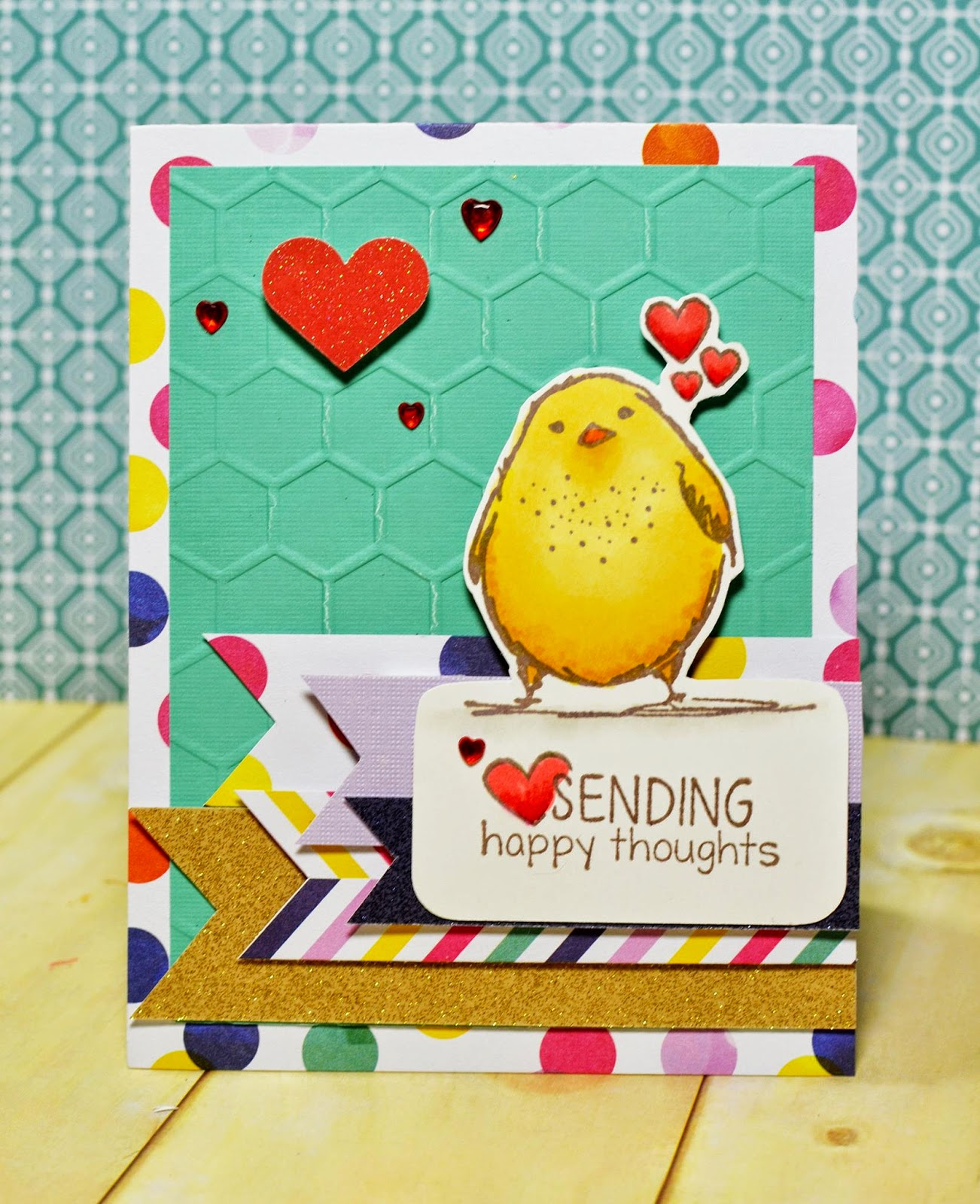 http://pinkpapercrowns.blogspot.ca/2015/03/one-cute-chick.html