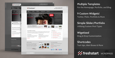 FreshStart Wordpress Theme
