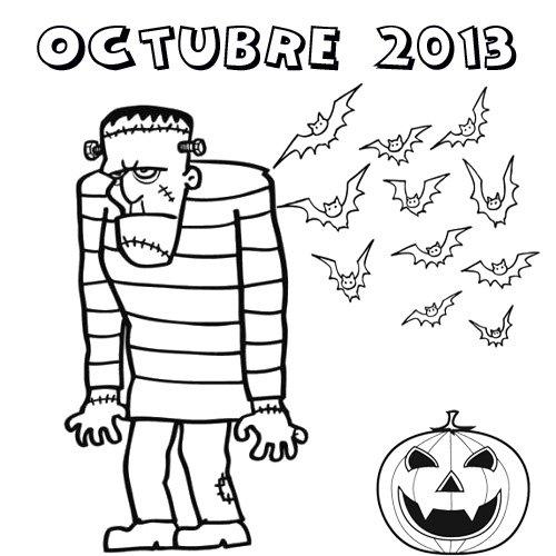 Encantador Octubre Colorear Páginas Para Imprimir Regalo