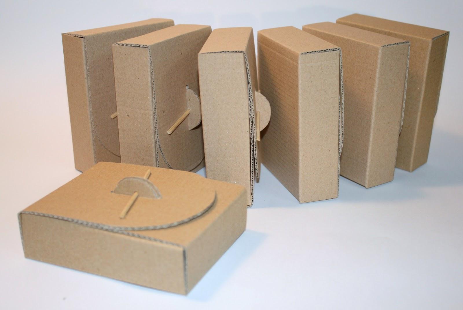 Cajitas De Carton Reciclado on Craft Packaging