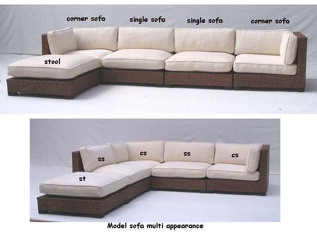 Model Sofa Multi Appearance