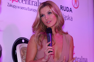 Modna Ruda Śląska, Modny Śląsk, Joanna Krupa w Rudzie Śląskiej. fot. Łukasz Cyrus