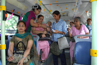 city bus for women