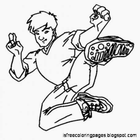 Jackie Chan Coloring Pages Free Coloring Pages