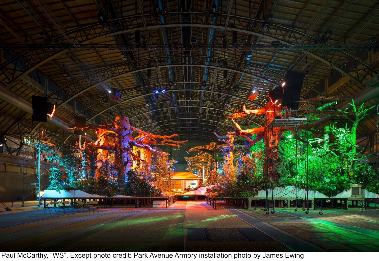 Paul McCarthy: WS at the Park Avenue Armory   Observer