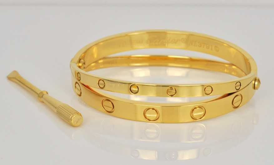 love en yellow bracelet chain gold product cartier