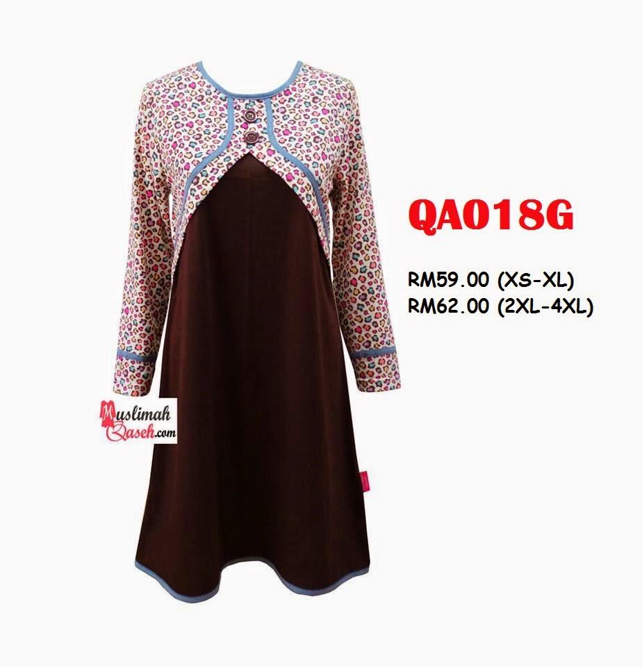T-Shirt-Muslimah-Qaseh-QA018G