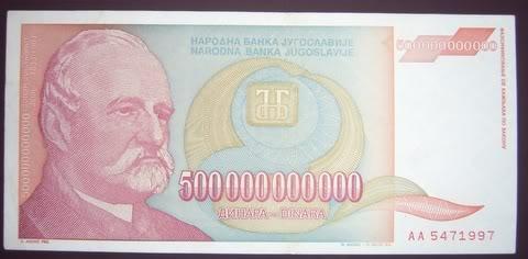 tiền nam tư
