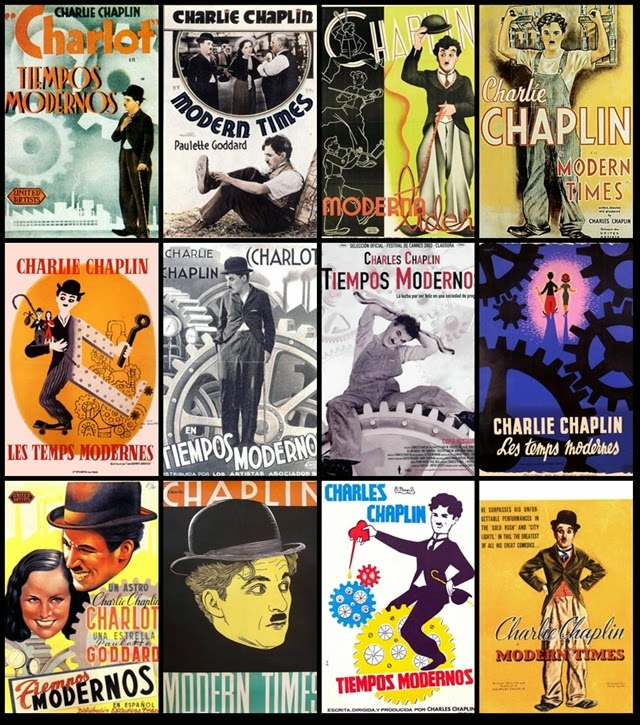 Tiempos, Modernos, Chaplin
