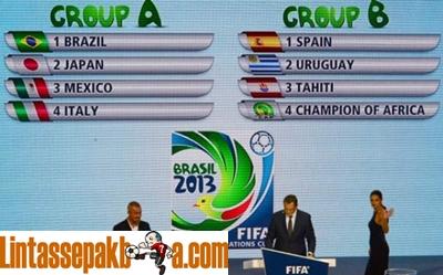 Jadwal Piala Konfederasi 2013 Brazil