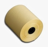 3-1/8 inch x 230 feet Canary Thermal BPA Free Printer Receipt Paper Rolls, 50 Rolls/Case