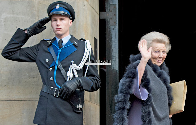 King Willem-Alexander, Queen Maxima, Princess Beatrix, Princess Margrie