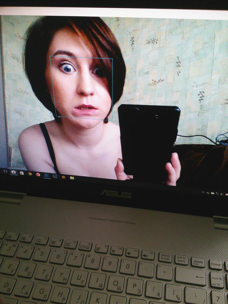 adorkable webcam selfie derp