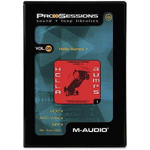 M-Audio Pro Sessions Vol.40 Electro Groove ACID AIFF REX2 (1 cd)