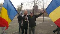 Maratonul Reintregirii Neamului Romanesc 2012 - parcul IOR, Bucuresti. Florin Chindea si Ilie Rosu