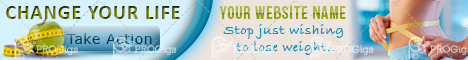 Lose Weight Web Banner 468×60