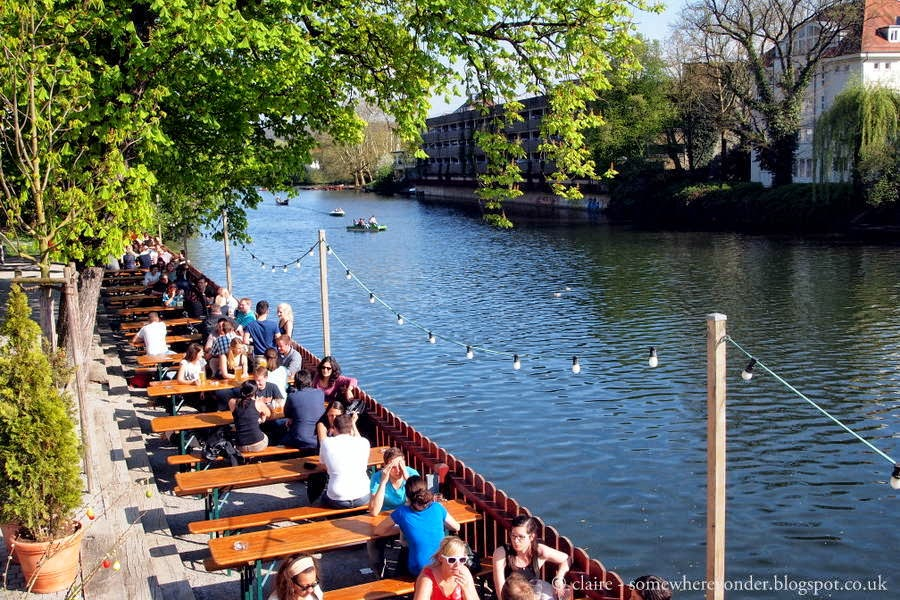 River Beer Garden - Germany